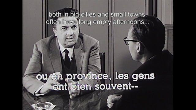 "Fellini on ""Second Look,"" Episode 4"