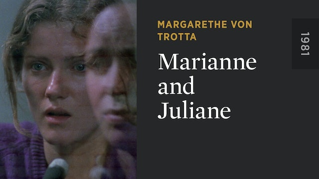 Marianne and Juliane