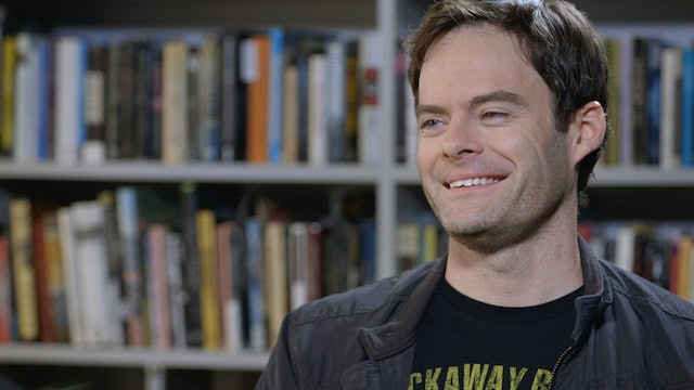 Bill Hader on DOWN BY LAW