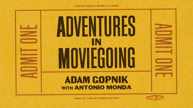 Adam Gopnik in Conversation
