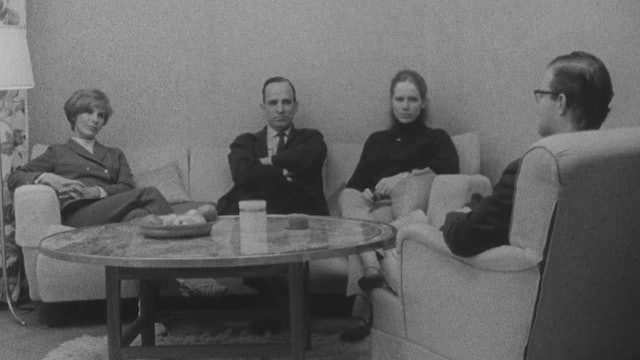 Bibi Andersson, Ingmar Bergman, and Liv Ullmann on PERSONA