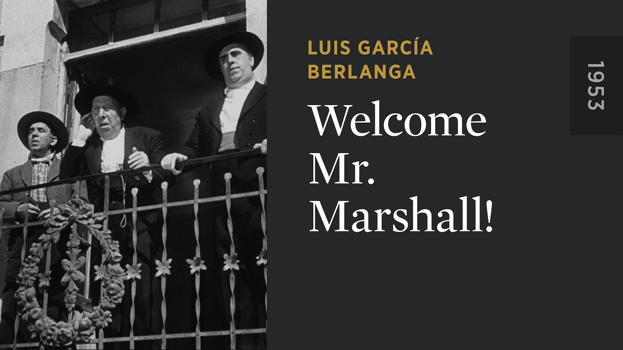 Welcome Mr. Marshall!
