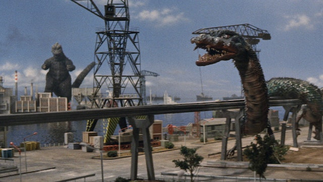 DESTROY ALL MONSTERS: English-dubbed version