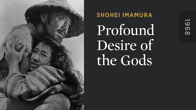 Profound Desire of the Gods