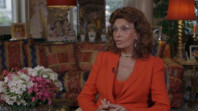 Sophia Loren on A SPECIAL DAY