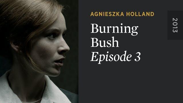BURNING BUSH: Episode 3