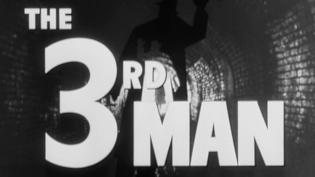 THE THIRD MAN Trailer