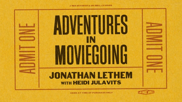 Jonathan Lethem in Conversation
