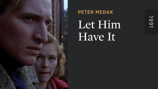 Let Him Have It