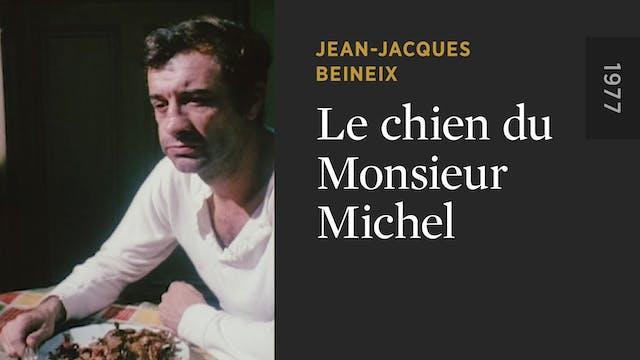 Le chien du Monsieur Michel