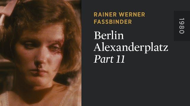 BERLIN ALEXANDERPLATZ: Part 11