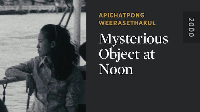 Mysterious Object at Noon