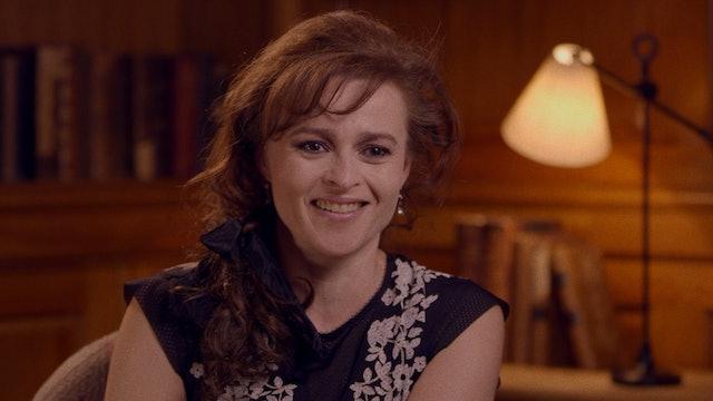 Helena Bonham Carter, Simon Callow, and Julian Sands on A ROOM WITH A VIEW