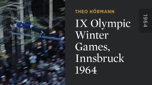 IX Olympic Winter Games, Innsbruck 1964