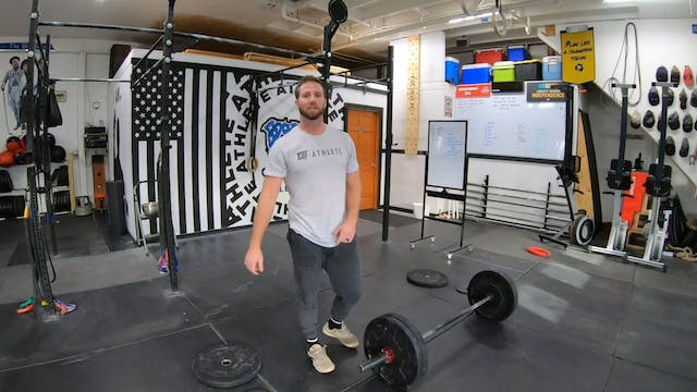 Coaching Power Snatches Part 2