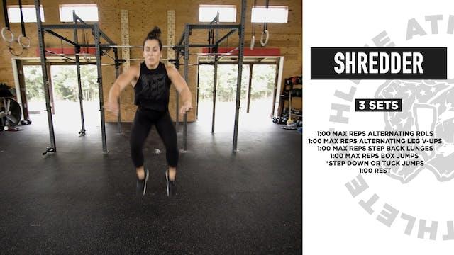Shredder Bodyweight