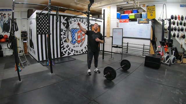 Coaching Lighter Power Snatches