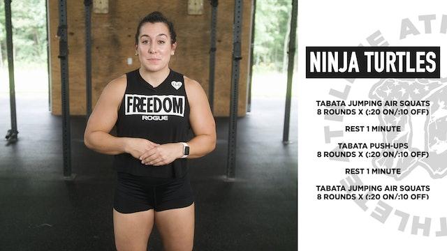 Ninja Turtles Bodyweight