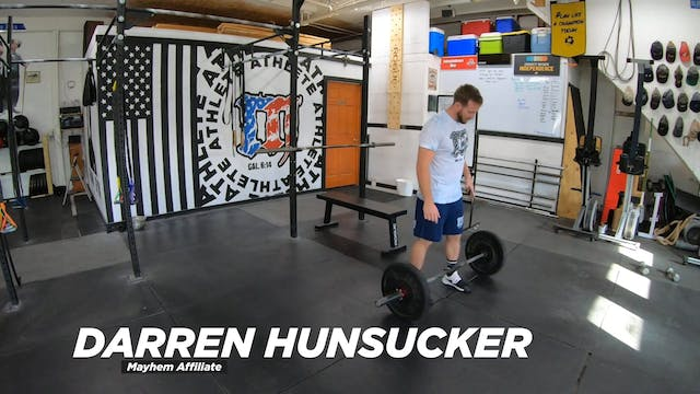 Coaching Power Cleans