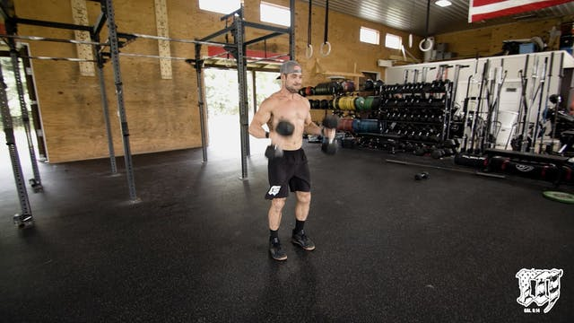 Double DB Power Clean