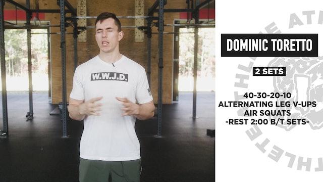 Dominic Toretto Bodyweight