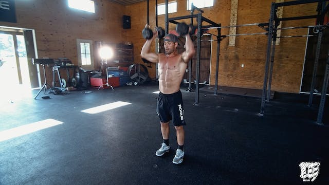 Double DB Clean And Jerk