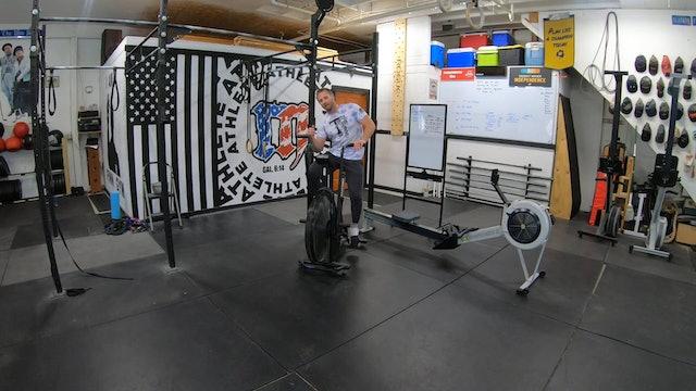Coaching Assault Bike Intervals