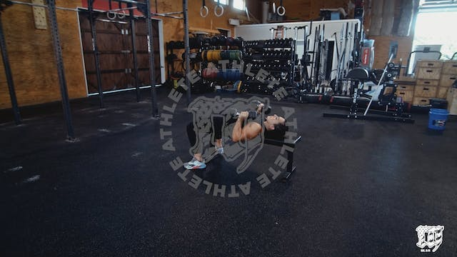 Double Arm DB Bench