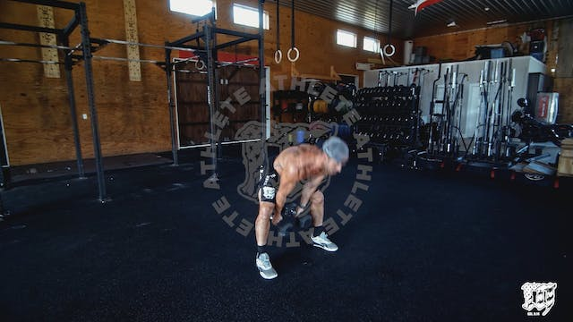 Double DB Snatch