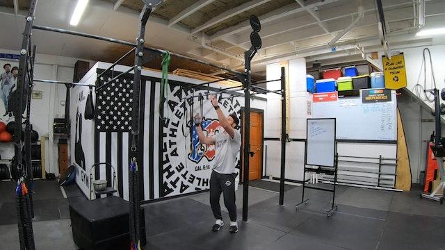 Coaching Bar Muscle Up Skill Progression