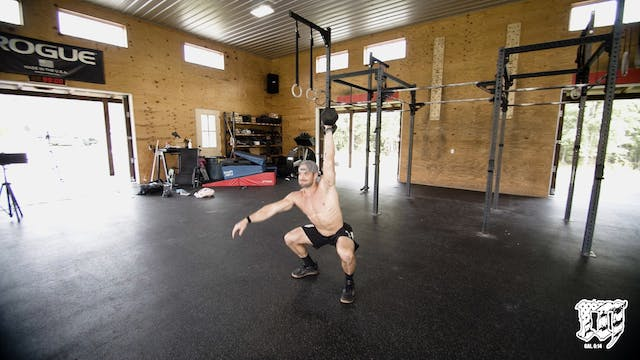 DB Hang Squat Snatch