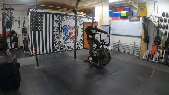 Coaching Assault Bike Sprints