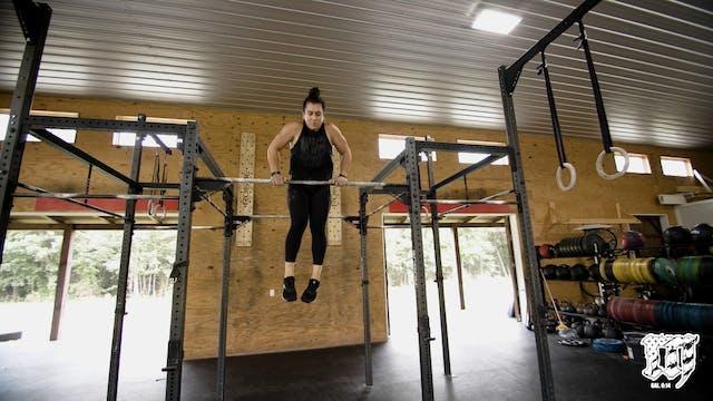 Burpee Bar Muscle Up