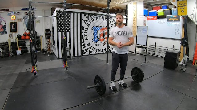 Coaching The Overhead Squat