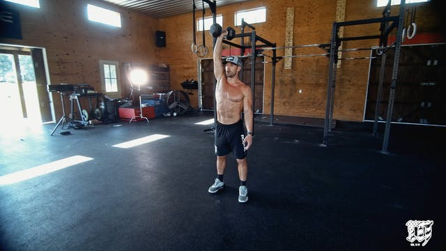 Single Arm DB Push Jerk