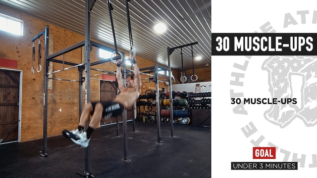 30 Muscle Ups