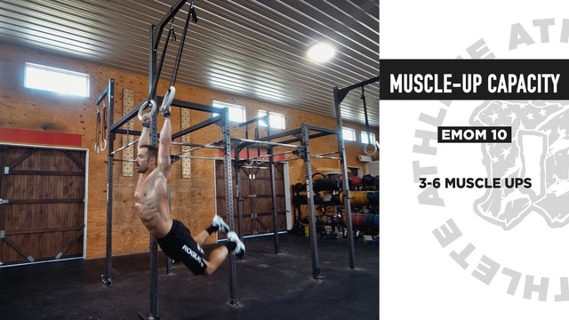 Muscle Up Capacity
