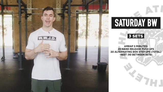 Saturday Bodyweight