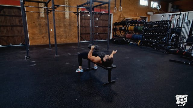 Single Arm DB Bench