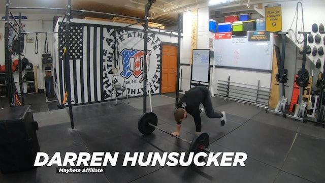 Coaching Bar Facing Burpees