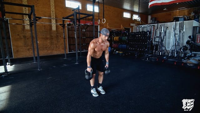 Double KB Deadlift