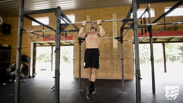 Supinated Strict Pull up