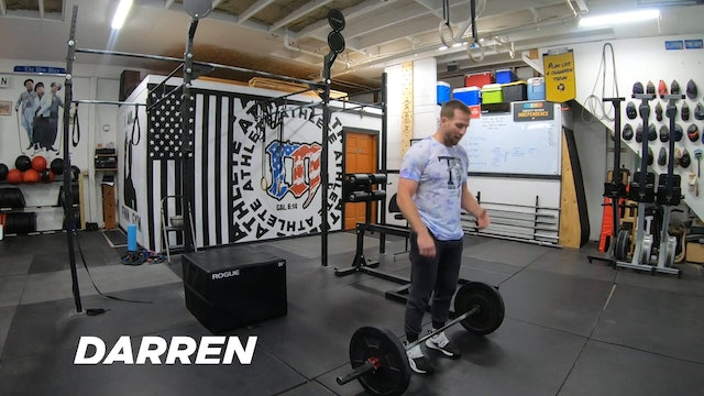 Coaching Light Power Cleans