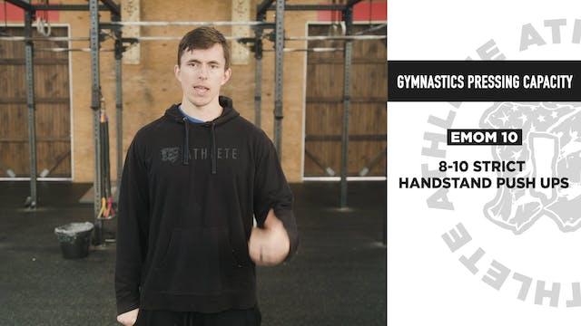 Gymnastics Pressing Capacity