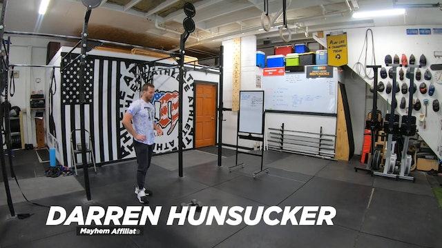 Coaching Front Rack Dumbbell Walking Lunge