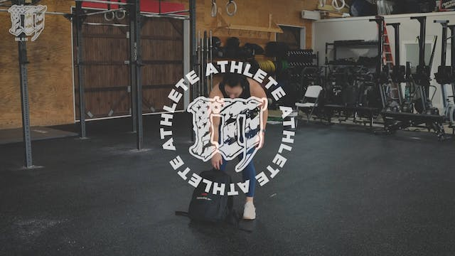 Backpack Bent Row
