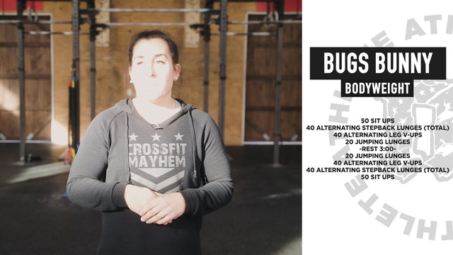 Bugs Bunny Bodyweight