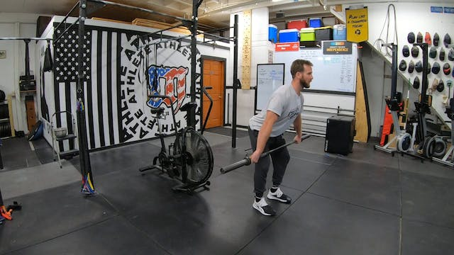Coaching Hang Power Snatch