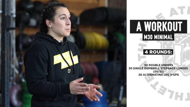 A Workout Minimal