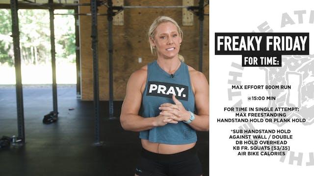 Freaky Fridayish Bodyweight